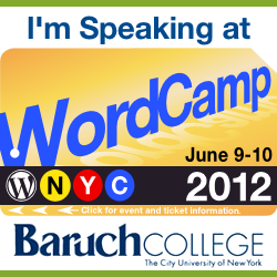 WordCampNYC – June 9-10-1