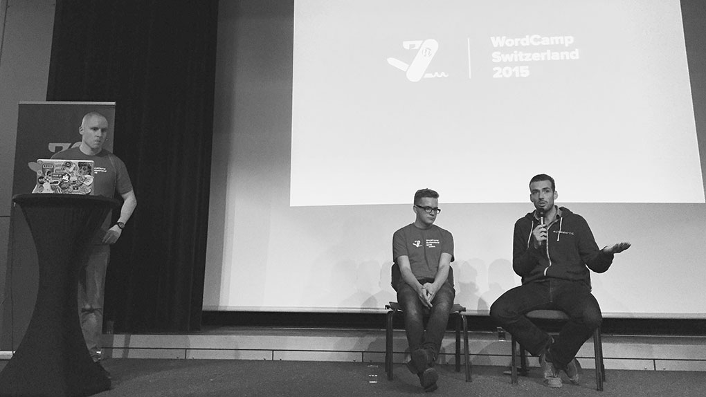 WordCamp Switzerland 2015 – Q&A with WordPress Experts Pascal Birchler and Konstantin Obenland