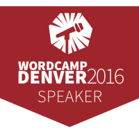 WordCamp Denver Speaker Badge
